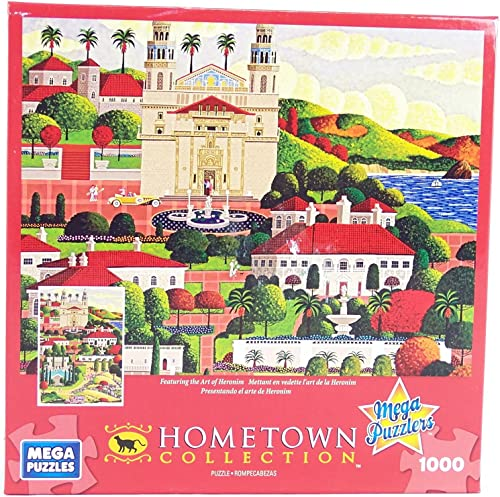 Hometown Collection Weekend At the Castle 1000 Piece Jigsaw Puzzle By Heronim by Mega Brands