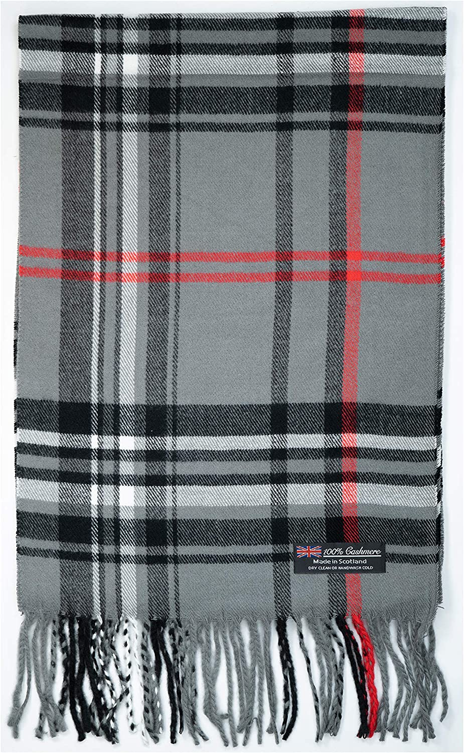 100% Cashmere Scarf Winter Nova Check Collection Made Fashion in Popular Ranking TOP5 popular