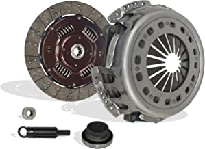 Clutch Kit Works With Ford F250 F350 F59 F Super Duty Base XL Lariat XLT Eddie Special 1994-1997 7.3L V8 DIESEL OHV Turbocharged Naturally Aspirated (Only Solid Flywheel)