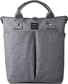 Kah&Kee Laptop Backpack Tote Bag Handbag Concealed Strap Computer Compartment Travel School for Women Man