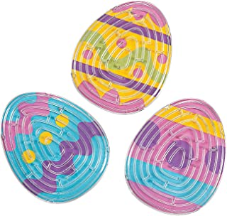 Fun Express - Easter Maze Puzzles (2dz) for Easter - Toys - Games - Puzzle Games & Mind Teasers - Easter - 24 Pieces