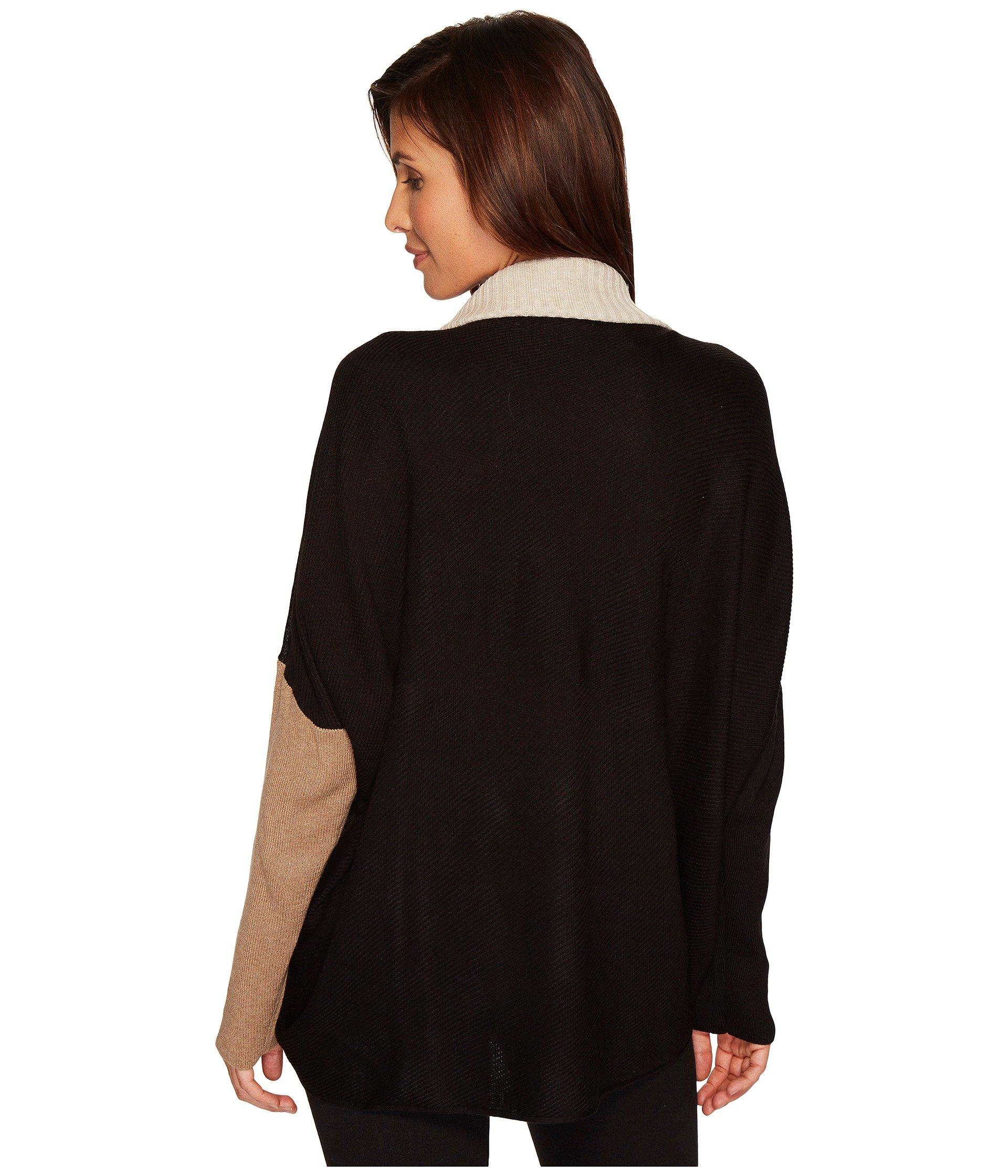 Ivanka Trump Cowl Neck Bat Wing Stripe Sweater at Zappos.com