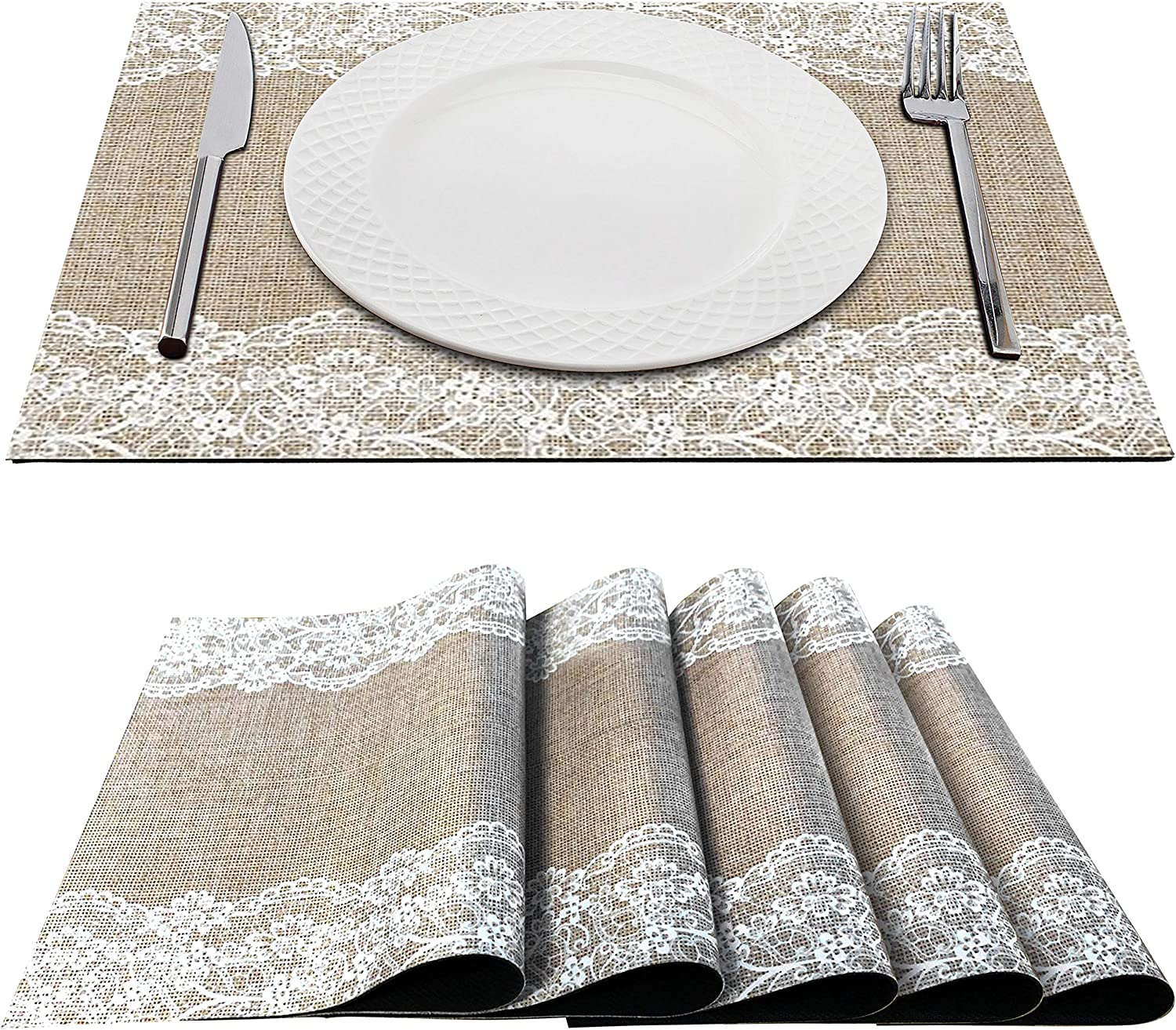 Trivetrunner Decorative Placemats for Hot Plates