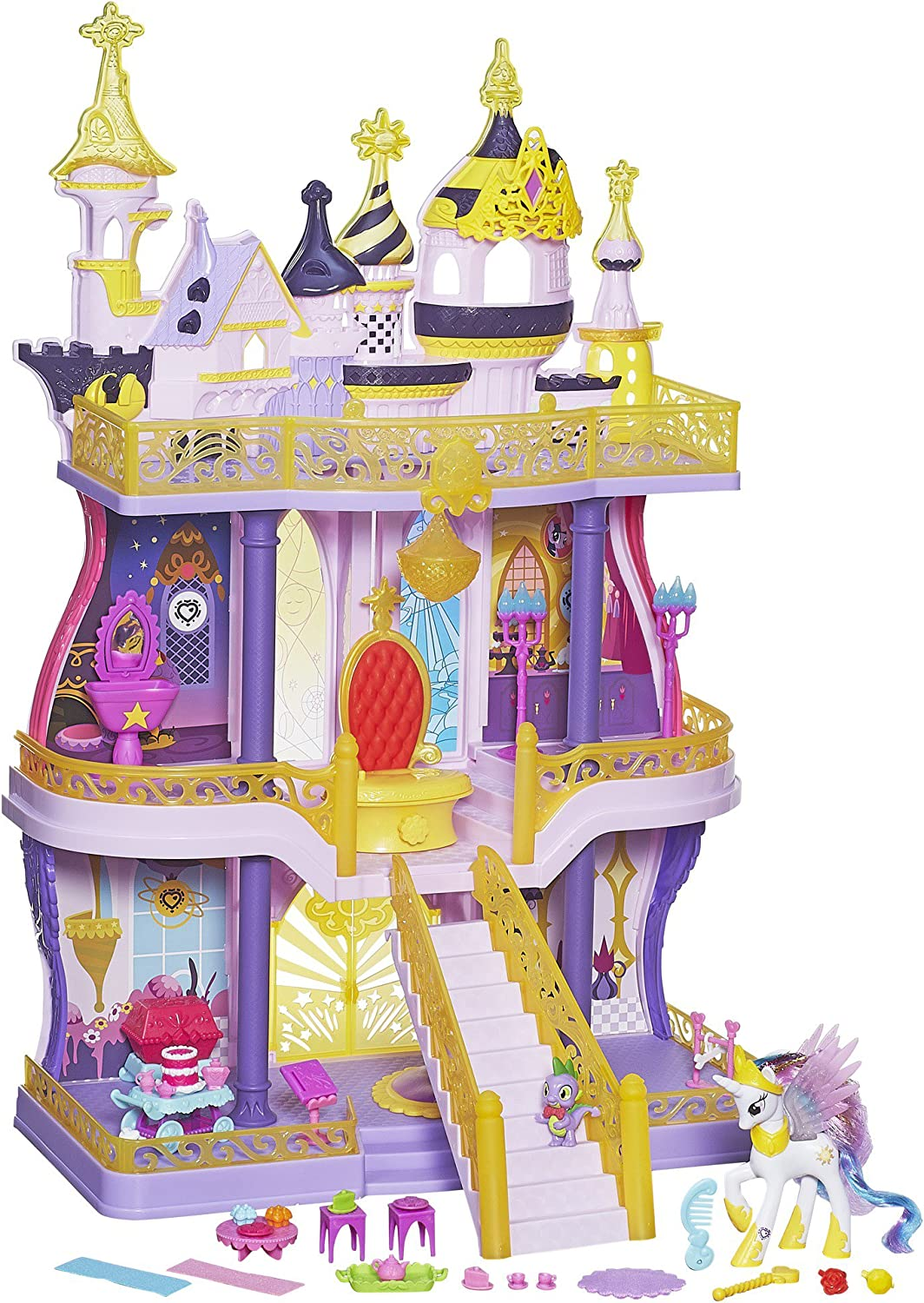 My little Pony Cutie Mark Magic Canterlot Castle Spielset
