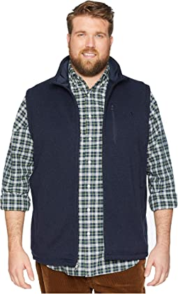 Big &Tall Sweater Fleece Vest