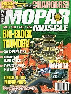Mopar Muscle August 1998 Magazine BIG-BLOCK THUNDER Cruise To The Mopar Nats. TNT's 400hp DAKOTA New Stuff For Your Ram or Dakota