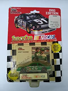 Racing Champions 1995 Jeff Gordon #24 1/64 scale diecast replica stock car with collectible card
