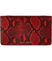 Marc Jacobs - Block Letter Snake Wallet Leather Strap