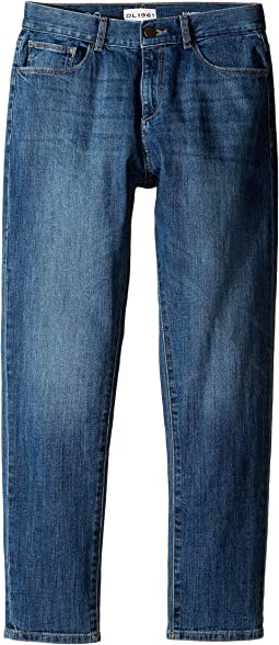 DL1961 Kids - Harry Slouchy Slim Jeans in Rail (Big Kids)
