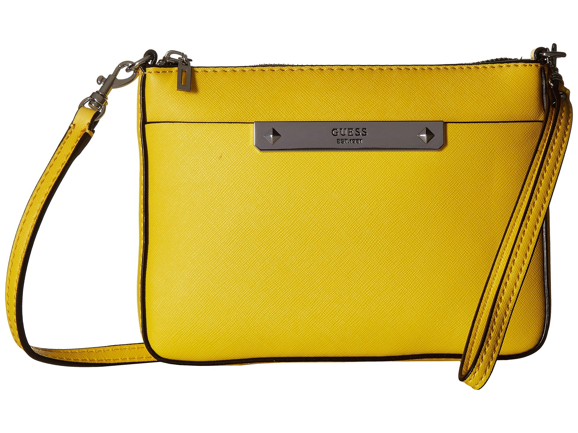 Bolso Cruzado para Mujer GUESS Britta Mini Crossbody Top Zip  + GUESS en VeoyCompro.net