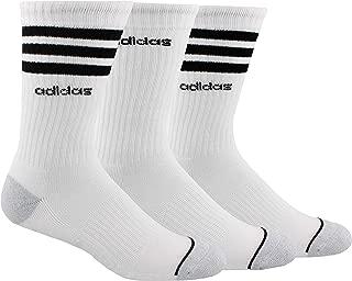 Men's 3-Stripe Crew Socks (3 Pairs)