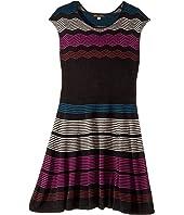 Ella Moss Girl - Melaine Intarsia Sweater Dress (Big Kids)