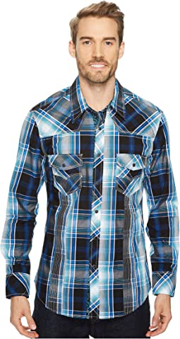 Rock and Roll Cowboy - Long Sleeve Snap B2S4103