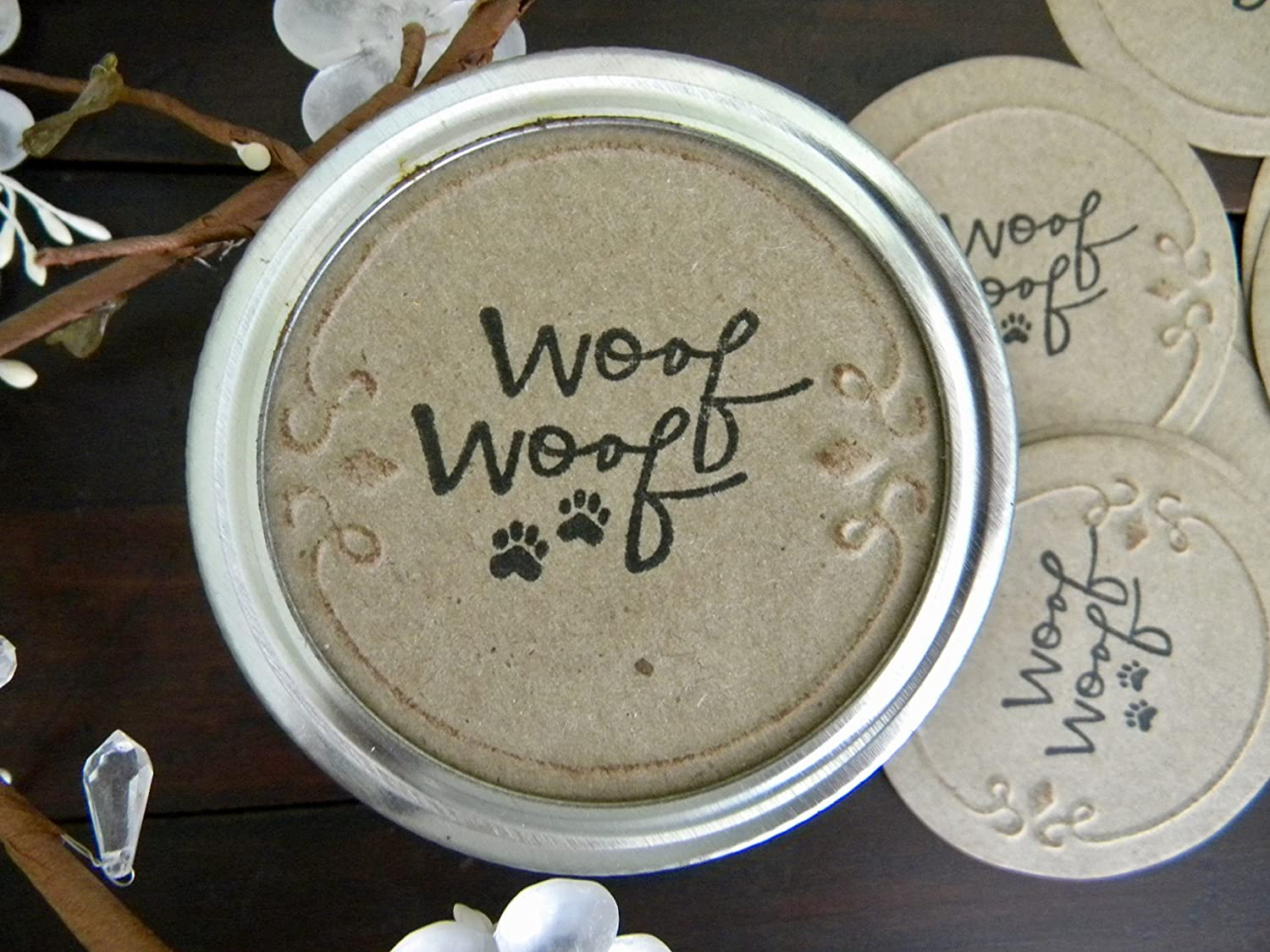 Mason Jar Labels for OFFicial site Dog San Francisco Mall Party Ideas Canning Favor St Treats