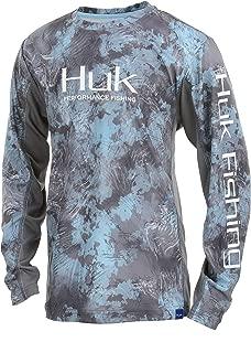 HUK Youth Icon X Camo Long Sleeve Shirt,  SubPhantis
