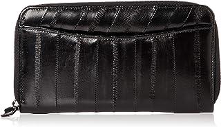 [ハレルヤ] イールスキン 長財布 ラウンドファスナー タイプA HAE002-Black