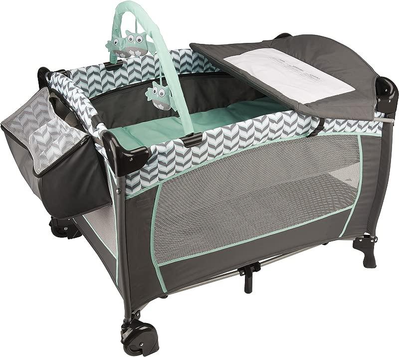 Evenflo Portable BabySuite Deluxe Spearmint Spree