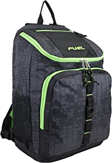 Wide Mouth Sports Backpack with Laptop Compartment for School, Travel, Outdoors