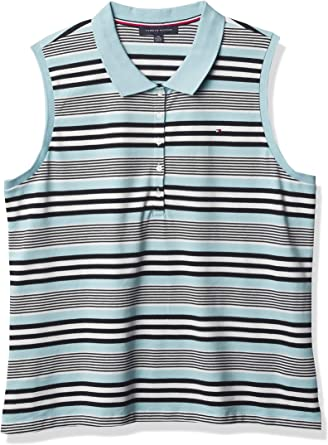 Tommy Hilfiger Women's Classic Sleeveless Polo