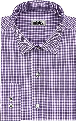 Dress Shirt Slim Fit Checks and Stripes (Patterned)