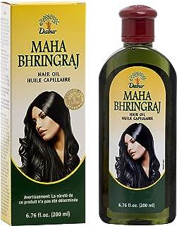 Dabur Maha Bhringaj Herbal Ayurveda Hair Oil (200 ml / 6.76 fl oz)