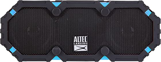 Altec Lansing IMW478s Mini LifeJacket-3 Bluetooth Speaker Waterproof, Aqua/Black