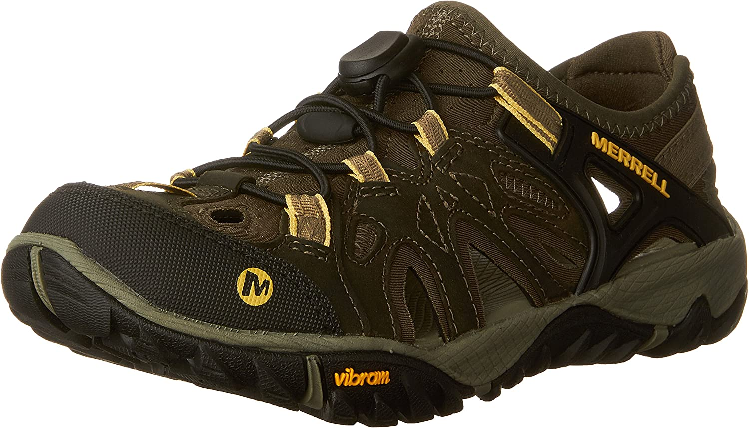   Merrell Women's All Out Blaze Sieve Water Shoe, Olive Night, 7 M US   Water Shoes