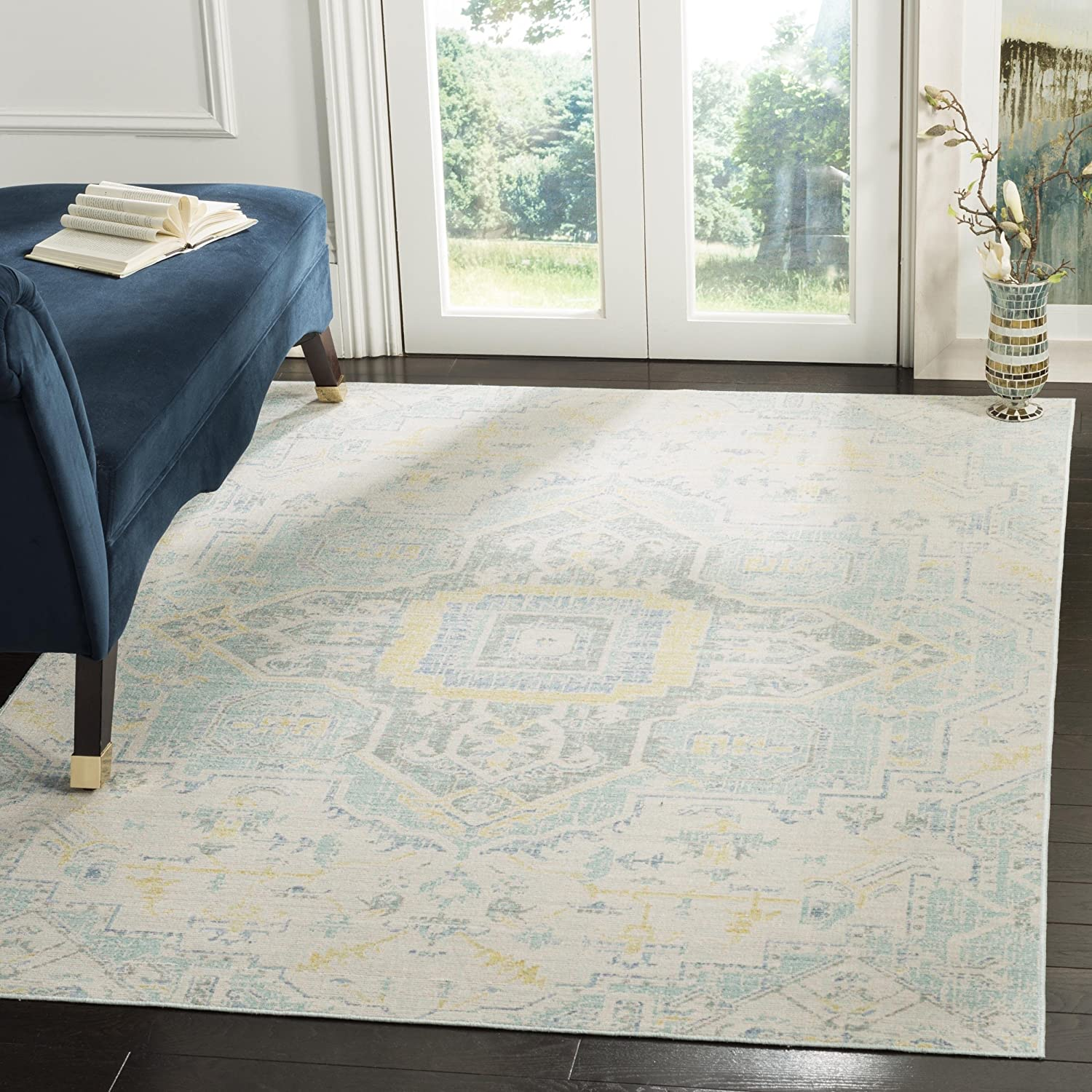 Safavieh Windsor Collection WDS329L Chic Boho Price reduction security Distressed Shabby