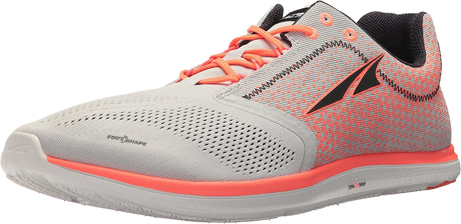 Altra AFM1836P Men's Solstice Sneaker, orange - 7 D(M) US