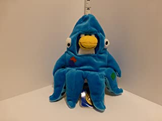 "VALUE DEAL - SAVE $6.00 - SUPER JUMBO 12"" Squidzoid by Disney Club Penguin Plush - VALUE DEAL = Just the Puffle - No Coin ..."
