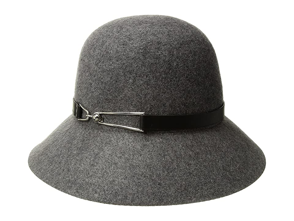 Women's Vintage Hats | Old Fashioned Hats | Retro Hats San Diego Hat Company Packable Cloche Charcoal Caps $67.50 AT vintagedancer.com