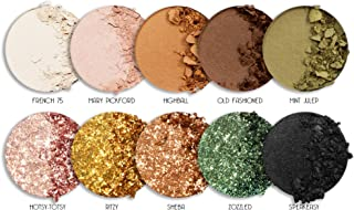 LA Splash Golden Gatsby Collection Glam Eyeshadow 10C Palette (Lot#GG06AH) Paraben-Free, Vegan, Gluten-Free