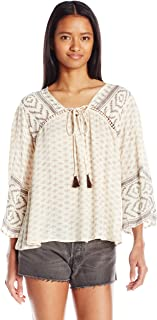 Angie Women's Bell Sleeve Top