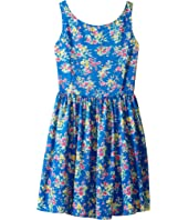 Polo Ralph Lauren Kids - Poly Twill Floral Dress (Big Kids)