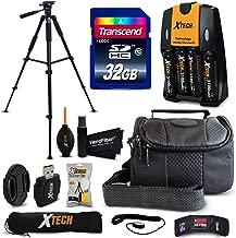 32GB Accessory Kit for Nikon Coolpix B500, L840, L830, L820, L620, L610, L320, L32, L31, L30, L28, L26, L24, L22 Digital Cameras Includes 32GB High-Speed Memory + Fitted Case + 60 inch Tripod + More
