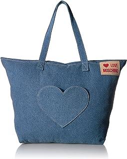 Love Moschino Women's Borsa Denim Top-Handle Bag