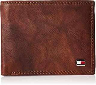 Tommy Hilfiger Men's RFID Blocking Leather Extra Capacity Traveler