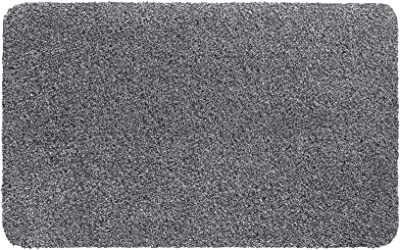 Natuflex Washable Cotton and Polyester Entrance Mat, Grey, 40 x 60 cm