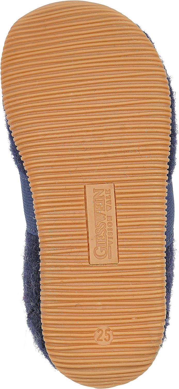 Giesswein Chausson Weidach Pantoufles en Feutre Chaussures Confortables en Coton Chaussons Filles et gar/çons /Élastiques Semelle Mince en Caoutchouc