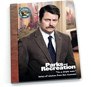 Parks and Recreation Merchandise, Ron Swanson Notes of Wisdom, by Papersalt