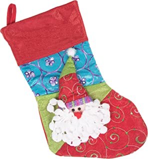 patchwork christmas stockings
