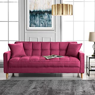 Amazon Com Linen Sofas Couches Living Room Furniture