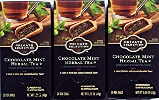 Private Selection Chocolate Mint Herbal Tea