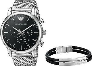 Emporio Armani AR8032 Dress Watch For Men-Silver
