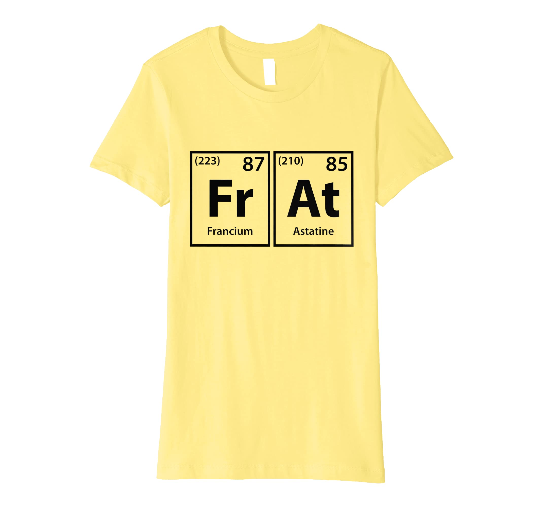 641a28608 Amazon.com: Frat Periodic Table Elements Spelling T-Shirt: Clothing