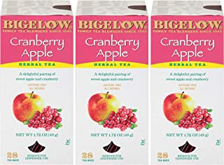 BIGELOW HERB TEA CRAN/APPL 3 of BOX of 28