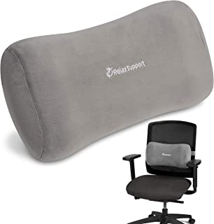 RS11X Back Support Pillow by RelaxSupport – Lumbar Pillow Upper and Lower Back for Chair Back Pain Uses ArcContour Special...