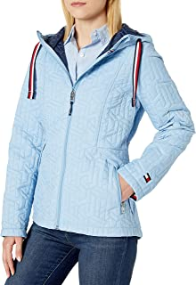 Women's Hooded Quilted Packable Jacket
