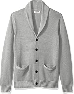 Amazon Brand - Goodthreads Men's Soft Cotton Shawl Cardigan