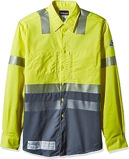 f10721c5fa4b Bulwark Men s Hi-vis Color Block Uniform Shirt-Excel Fr